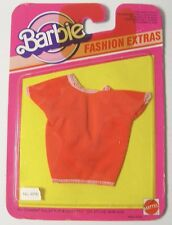 "Vintage 1983 mattel barbie fashion vêtements tee-shirt christine tracy pj 11"" doll"