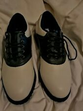 STYLO LEATHER GOLF SHOES (NEW NEVER WORN) SEE ALL PICTURES.