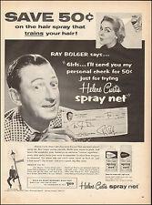 1957 Vintage ad Helene Curtis Spray Net`Ray Bolger `Washington Square TV 051617)