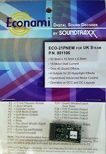 Soundtraxx ECO-21PNEM UK Steam Sound Decoder 21 Pin NEM version