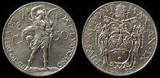 pci2218) Roma Città del Vaticano Pio IX Cent  50 1930 Ni