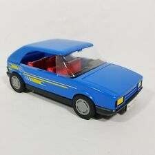 VTG 1986 Playmobil Geobra Blue Rally Racing Car Suzuki Swift GSi 80s Toys