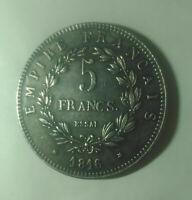 FRANCE NAPOLEON II 5 FRANCS 1816  PIECE Essai gravee Napoleon 2 Aiglon