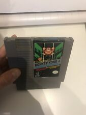 Authentic Donkey Kong 3 Nes Clean Cart And Label