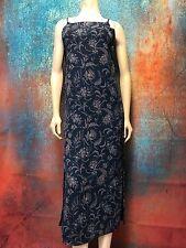 Old Navy Women's Sundress Mid Calf Floral Side Zipper Flattering Style Size 2