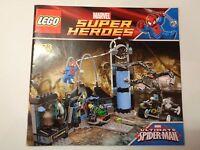 LEGO Instructions Marvel Super Heroes Spider-Man's Doc Ock Ambush (6873
