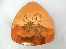 """Well shaped/formschöme 50´s design rame anbietschale/brass bowl """"cavallo"""""""