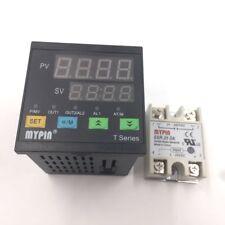 Digital Pid Temperature Controller Ta7-Snr +Sensor Pt100+Solid State Relay