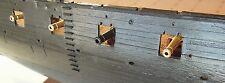 Revell USS Constitution, United States -set of 57 pcs CNC Brass gun barrels 1:96