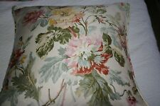 "Ralph Lauren WENTWORTH FLORAL Wisteria Down THROW PILLOW 18"" X 18"""