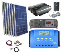 1500 Watt Inverter Complete Kit 600 Watt  Solar Panel+Controller 12V RV Off Grid