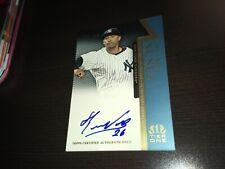 Eduardo Nunez New York Yankees 2011 Topps Tier One Auto 686/999