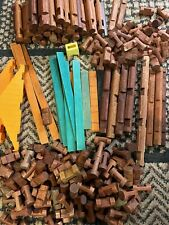 Vintage Lincoln Logs Building Toy 200 Pieces