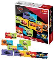 Trefl Kids Disney Domino Cars Cards Strategy Board Game Play Fun Children NEW