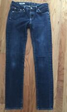 AG Adriano Goldschmied The Stilt Skinny Straight Leg Jean, Dark Wash - Size 25