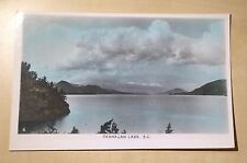 Canada BC Okanagan Lake Gowen and Sutton Made in Canada Postcard with Stamp