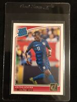2018-19 Panini Donruss Timothy Weah RC Rated Rookie Card United States USA