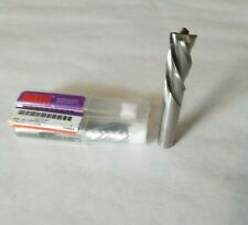 Lot Of 2 716 End Mill Right Hand Cut Left Hand Spiral Hss Hertel Nos Tooling