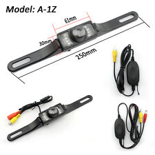 Car Wireless Rear View Reverse Camera Backup License Number Plate Night Vision