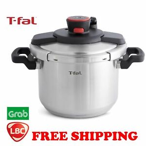 pressure cooker TFal Clipso 18/10 Stainless Steel Pressure Cooker  6L tefal