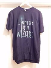 Fantastic Beasts & Where Find Them I WANT TO BE A WIZARD SHIRT Newt Promo size L
