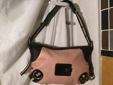 Bally nude pink leather shoulder bag