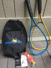 Sharper image Speed Bird badminton set
