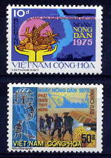 VIETNAM, SOUTH Sc#512-3 1975 Agrarian Reform Law 5th Anniversary MNH