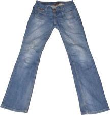 Damen-Bootcut-Jeans aus Denim mit niedriger Bundhöhe (en) Ebba