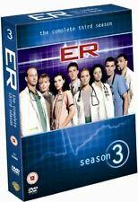 ER. Season 3. Series 3. Third Season. NEW SEALED. Dvd Boxset. Region 2. E.R.