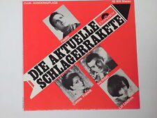 """DIE AKTUELLE SCHLAGERRAKETE (Freddy, C. Francis, I. Robic) 7"""" EP 45 Polydor Club"""