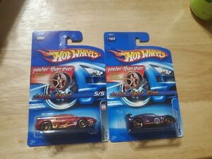 HOT WHEELS LOTUS FASTER THAN EVER 2005 FTE HTF PURPLE