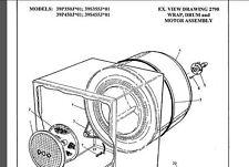 GENUINE ELECTROLUX, SIMPSON DRYER BUSH & SPIGOT KIT # LINT FILTER GUARD INPLACE