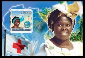 Guinea Bissau 2008 MNH MS, Red Cross, Wangari Maathai 1st African Women Nobel
