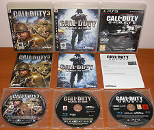 Call of Duty Collection Colección (CoD 3, World at War, Ghosts) PS3, Pal-España