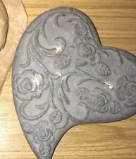 Latex Mould for making Lovely Heart Stone/rock