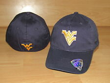WEST VIRGINIA MOUNTAINEERS RELAXER 2.0 FLEX FITTED HAT CAP MEN'S SIZE M/L