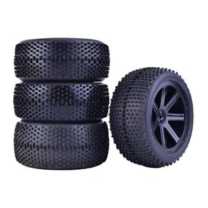 1/10 scale rc buggy wheels and tyres foam inserts 12mm hex pre glued