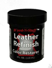 Leather Refinish Color Restorer Tm ~ Dark Camel 4oz. Refill We are the Original!