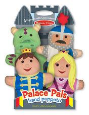 Palace Pals Hand Puppets by Melissa & Doug #9082 New Sealed
