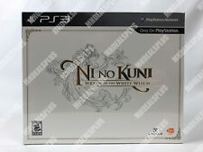 NEW & SEALED Ni no Kuni: Wrath of the White Witch Wizard's Edition [PS3] US NA!