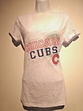 Women's Chicago Cubs White T shirt Large new with tag
