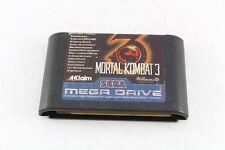 Megadrive Juego Mortal Kombat 3 solo carro PAL UK