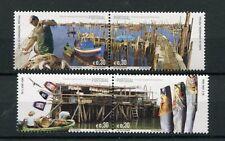 portogallo 2005 villaggi di pescatori congiunta con hong kong 2974-77  MHN