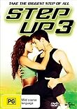 STEP UP 3 - BRAND NEW & SEALED REGION 4 DVD (DANCE, HIP HOP)