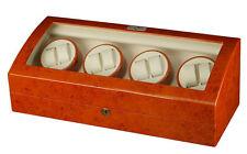 Diplomat Estate Burl Wood Eight 8 Watch Winder Burlwood 9 Storage Box Case