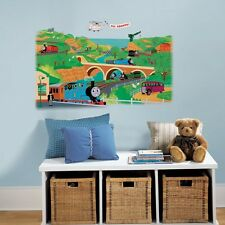 THOMAS THE TRAIN and FRIENDS Mural Wall Stickers BiG Tank Engine Stickers 40""