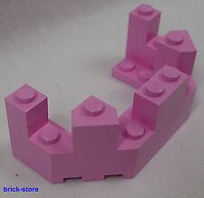 LEGO City/ Kingdoms / Castle / Friends ( pink ) Castle Tower / Wall Edge