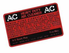 Decalcomanie decal filtre a air early mb gpw jeep