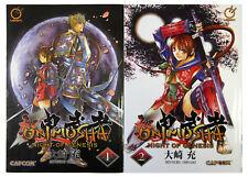 Onimusha: Night of Genesis 1 & 2 by Mitsuru Ohsaki (Udon, English Manga Lot 1-2)